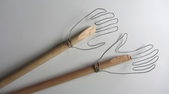 Puppet hands in the making