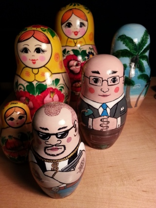 Fiscal paradise matrioshkas for The Enablers, CBC/RC (props, directing. editing, videographics)