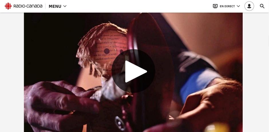 Méchant Guignol par Kris Fleerackers, Radio-Canada